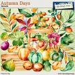 Autumn Days Elements by Aftermidnight Design