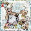 CTM Laureen Layout using This is Me December by Snickerdoodle Designs