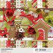 Gingerbread #digitalscrapbook Kit by AFT Designs - Amanda Fraijo-Tobin @Oscraps.com