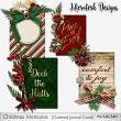 Christmas Mem Journal Cards