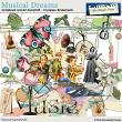 Musical Dreams by Aftermidnight Design