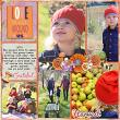 Layout using Pocket Scrapping Templates 01 by Snickerdoodle Designs