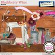 Blackberry Wine Elements by Aftermidnight Design
