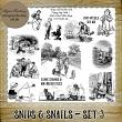 Snips and Snails - Set 3 by Idgie's Heartsong