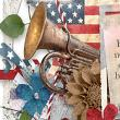 Freedom Close Up Image by Snickerdoodle Designs