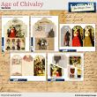 Age of Chivalry Junk Journal Elements by Aftermidnight Design
