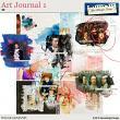 Art Journal 1 by Aftermidnight Design