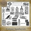 Vintage Apothecary by Idgie's Heartsong