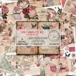 You Complete Me Junk Journal Kit by On A Whimsical Adventure