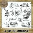 A Bit of Whimsy - 10 PNG Stamps and ABR Brush Files by Idgie's Heartsong