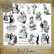 THE DANCE - 13 PNG Stamps and ABR Brush Files by Idgie's Heartsong
