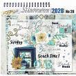 Digital Scrapbook kit Beach Vibes by Vicki Stegall @ Oscraps.com