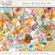 Sparkly and Cosy Page Kit by Vero