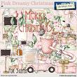 Pink Dreamy Christmas by Aftermidnight Design