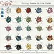 Yuletide Season Glitter Styles by Vero