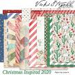 52 Inspirations 2020 Christmas Inspired Digital Scrapbooking Papers by Vicki Stegall @ Oscraps.com