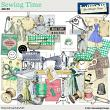 Sewing time Mini Kit by Aftermidnight Design