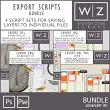 Export Scripts Bundle for Photoshop by Wendyzine