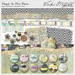 Magic in the Mess Digital Scrapbooking Borders, Baubles and Bits by Vicki Stegall @ Oscraps.com