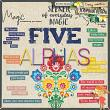 Be The Magic alphabets by Tracy Martin Designs