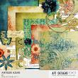 Antique Azure #digitalscrapbooking Kit by AFT Designs - Amanda Fraijo-Tobin @Oscraps.com