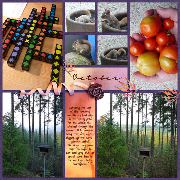 Layout created using Snickerdoodle Designs Pocket Scrapping Templates