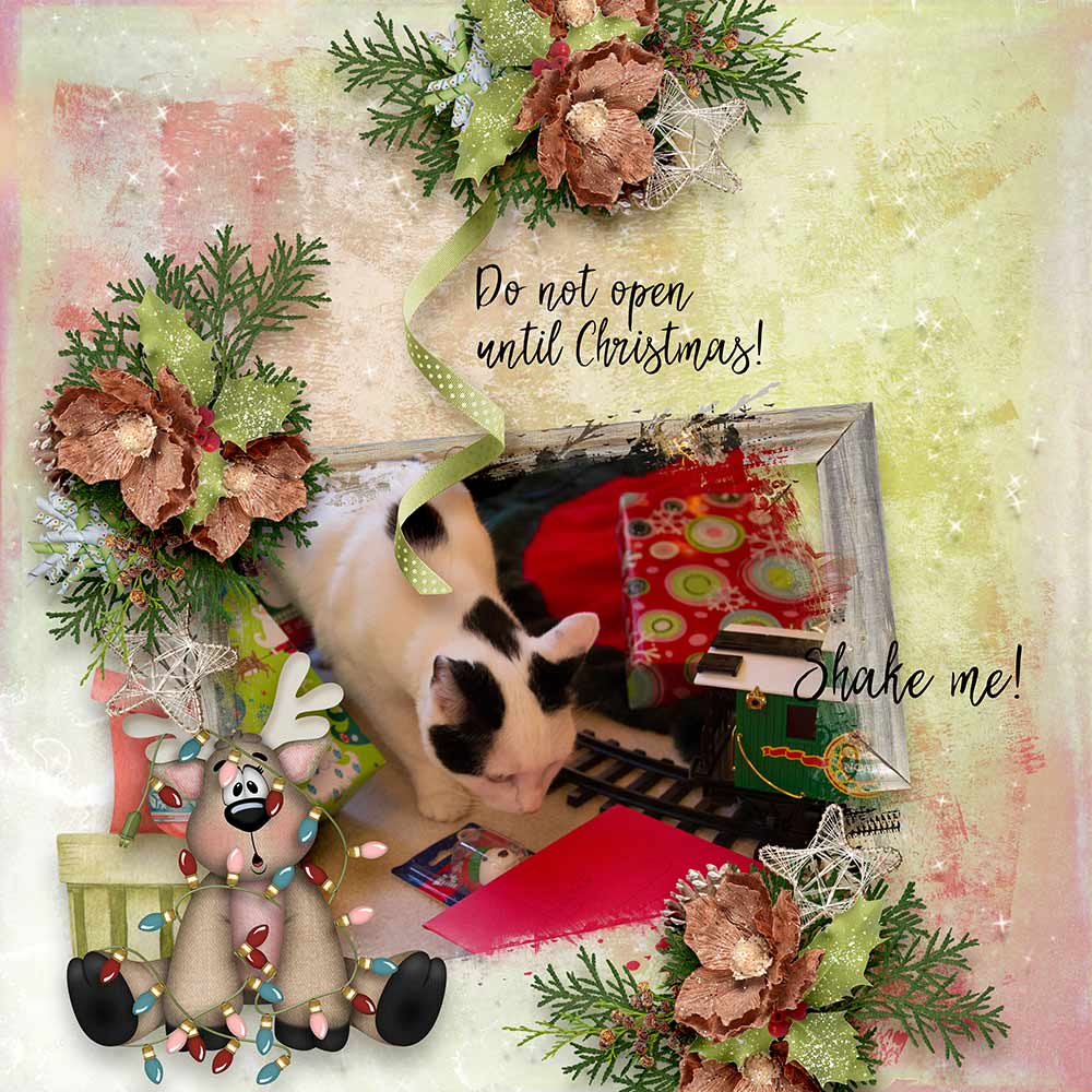 CTM Norma Layout using This is Me December by Snickerdoodle Designs