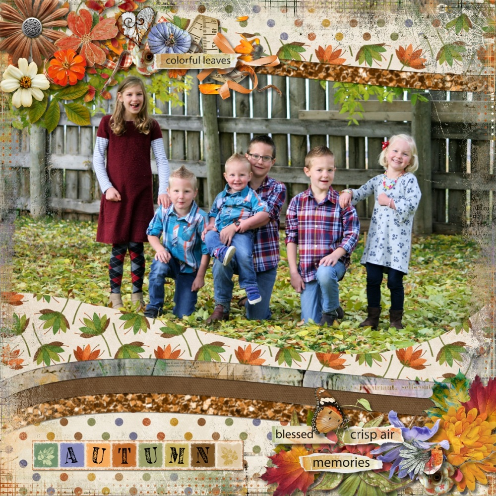 Playful Autumn by Snickerdoodle Designs and Linda Cumberland Designs