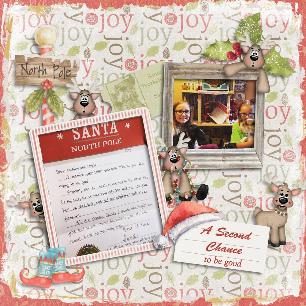 CTM KayLayout using This is Me December by Snickerdoodle Designs