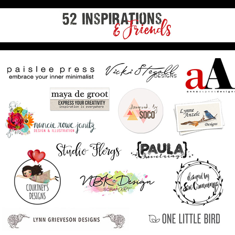 52 & Friends for 52 Inspirations 2017