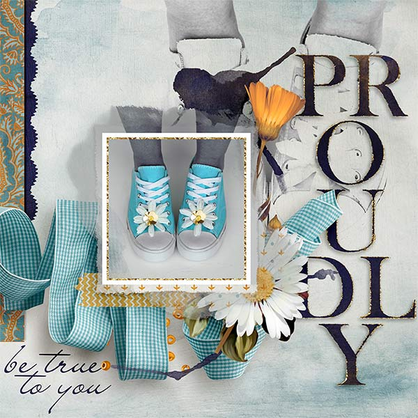 Digital Scrapbooking Layout by Amanda Fraijo-Tobin - AFT Designs - using Celebrate Items available @Oscraps.com