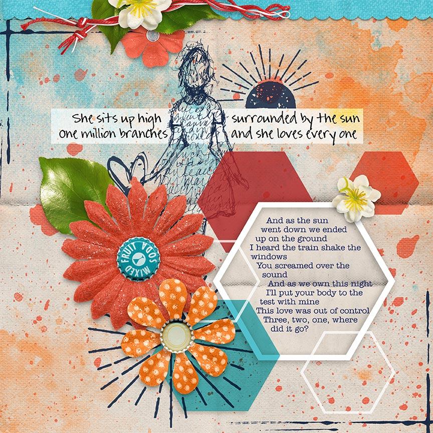 """Hold On Til May"" #digitalscrapbooking layout by AFT Designs - Amanda Fraijo-Tobin"