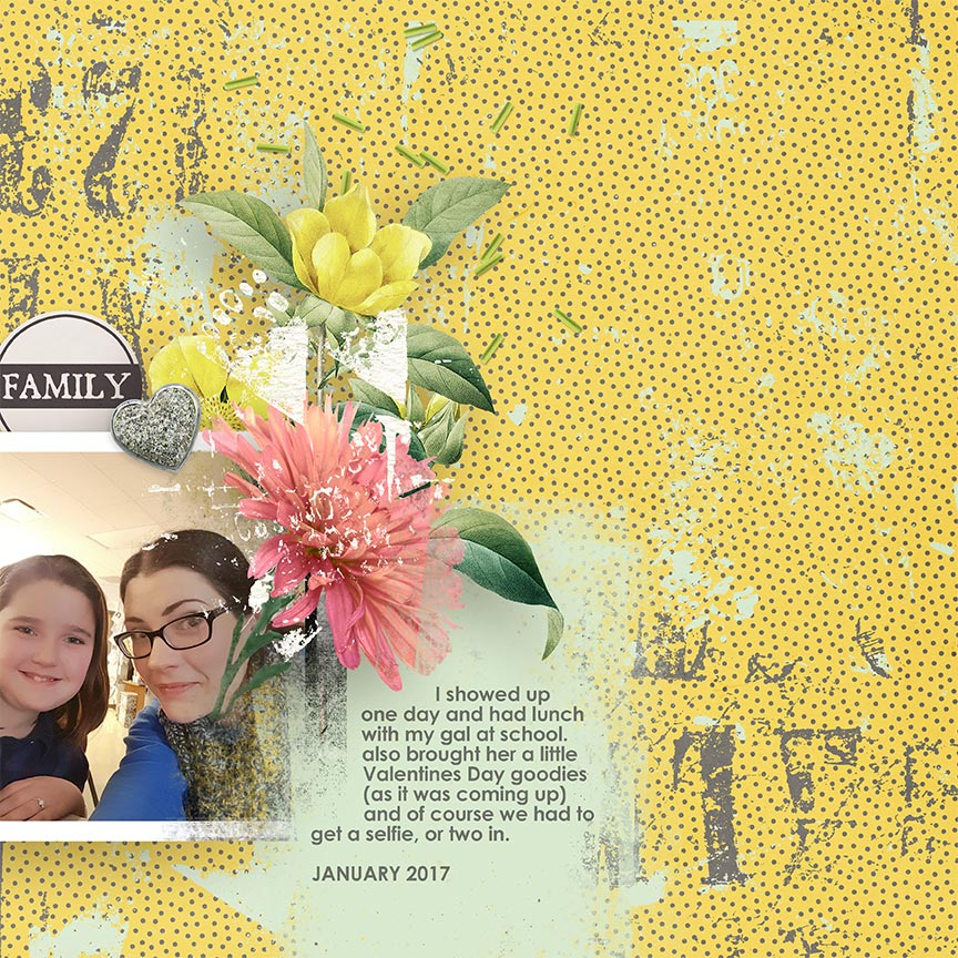 "#digitalscrapbooking layout ""Family"" by AFT Designs Amanda Fraijo-Tobin @Oscraps.com using Refreshmint Cluster Frames"