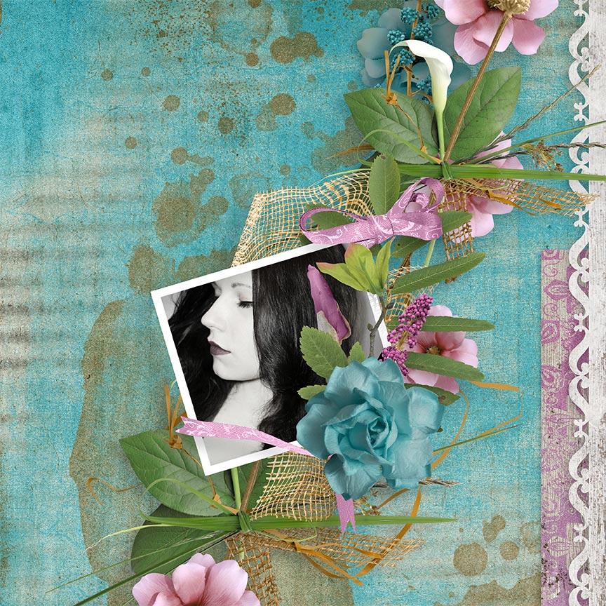 Digital Scrapbooking layout by AFT Designs - Amanda Fraijo-Tobin using Take A Breath Collection @ScrapGirls.com