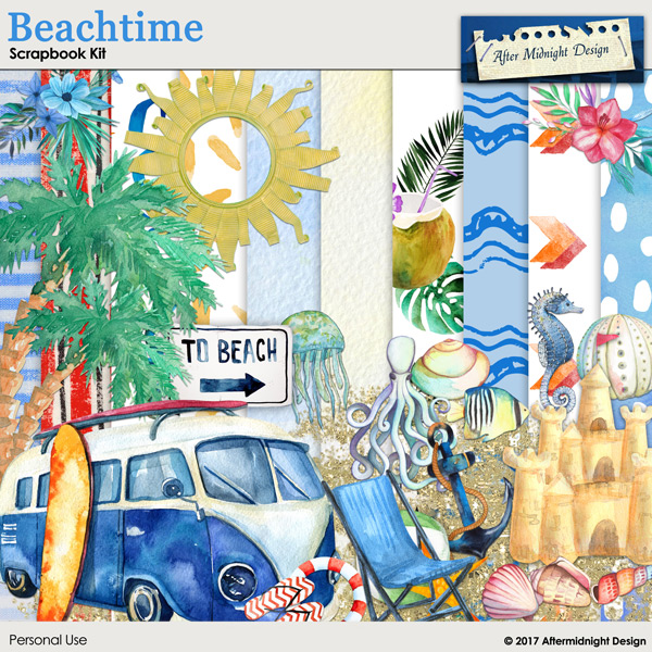 Beachtime by Aftermidnight Design