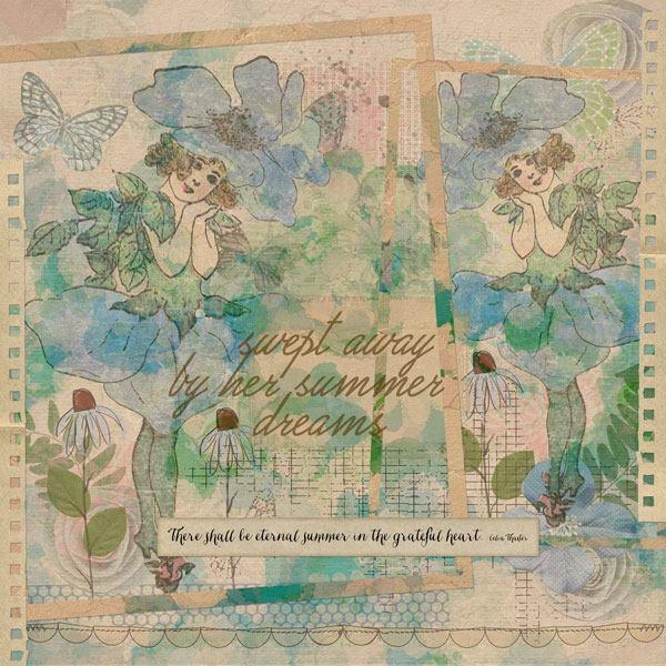 Summerish Take Two by Vicki Robinson sample page 2 by Beth