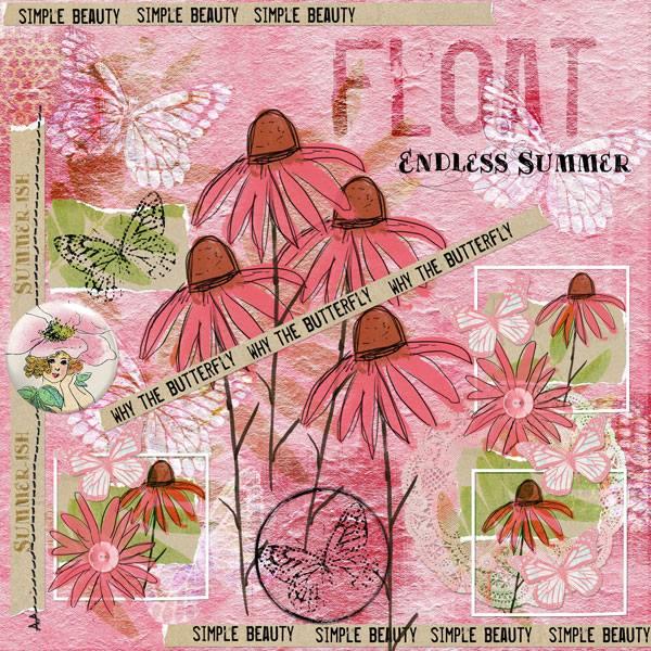Summerish Take Two by Vicki Robinson sample page 3 by Beth