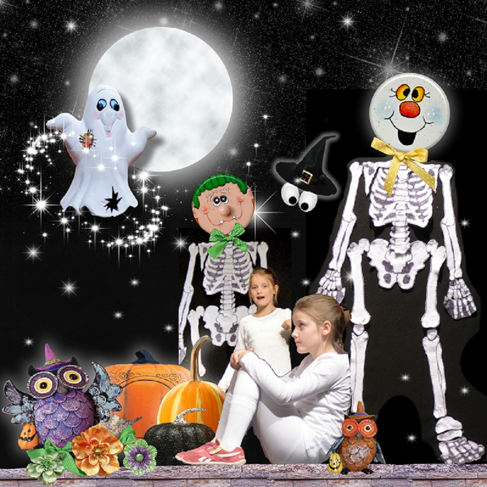 Trick or Treat Layout by