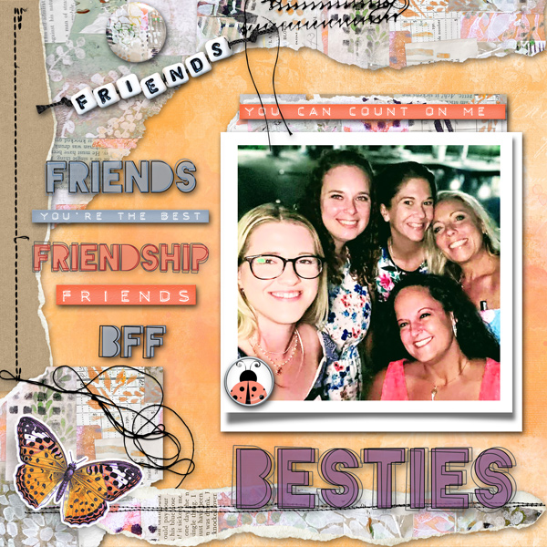 Friendship Garden by Vicki Robinson sample page 2 by Cheryl