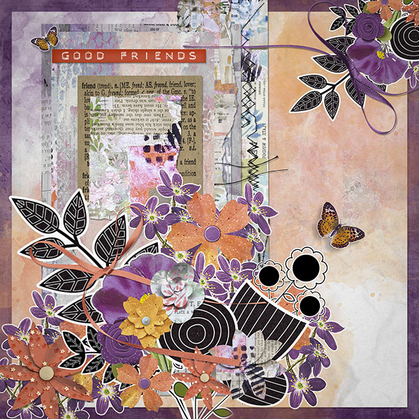 Friendship Garden by Vicki Robinson sample page 1 by Diane