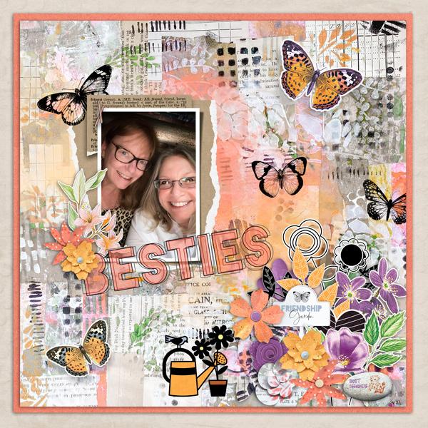 Friendship Garden by Vicki Robinson sample page 1 by Jana