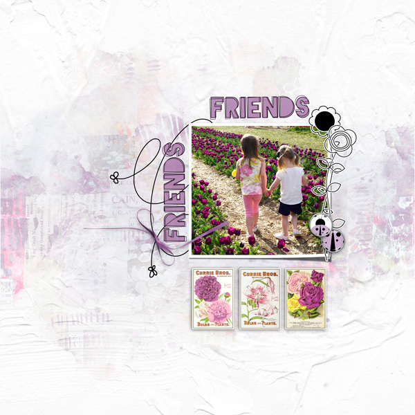 Friendship Garden by Vicki Robinson sample page 2 by Jana