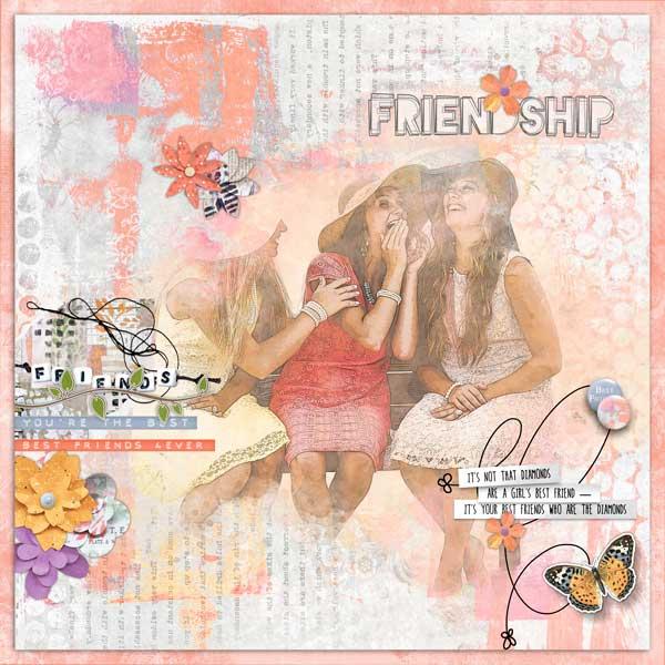 Friendship Garden by Vicki Robinson sample page 3 by Jana