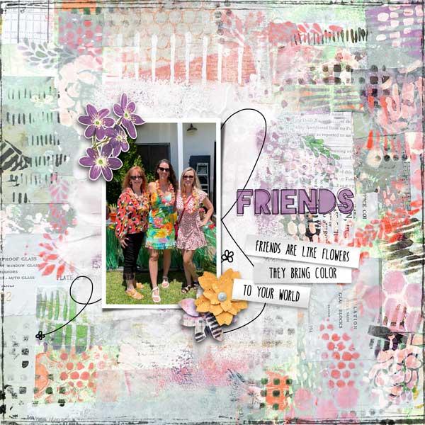 Friendship Garden by Vicki Robinson sample page 4 by Jana