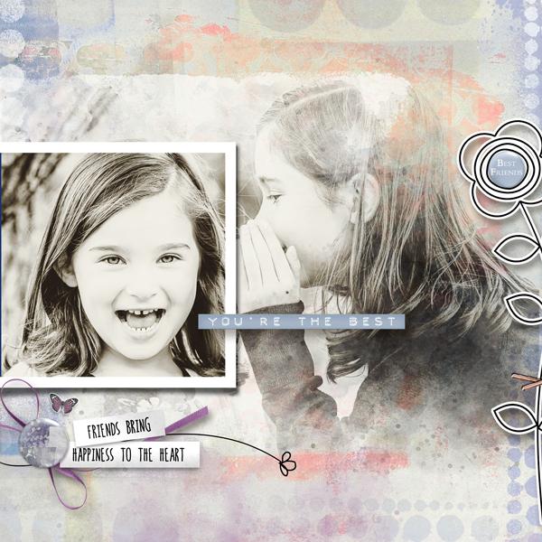 Friendship Garden by Vicki Robinson sample page by Marijke