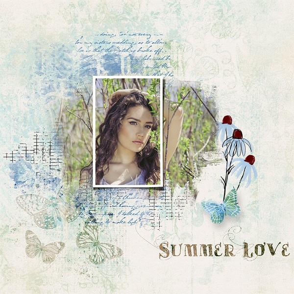 Summerish Take Two by Vicki Robinson sample page 2 by Gina