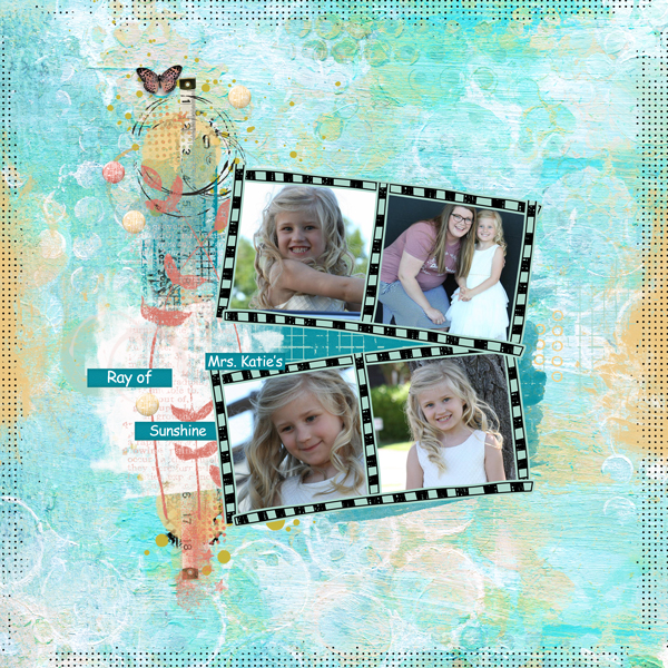 Express Yourself Growth Digital Scrapbook Page 06