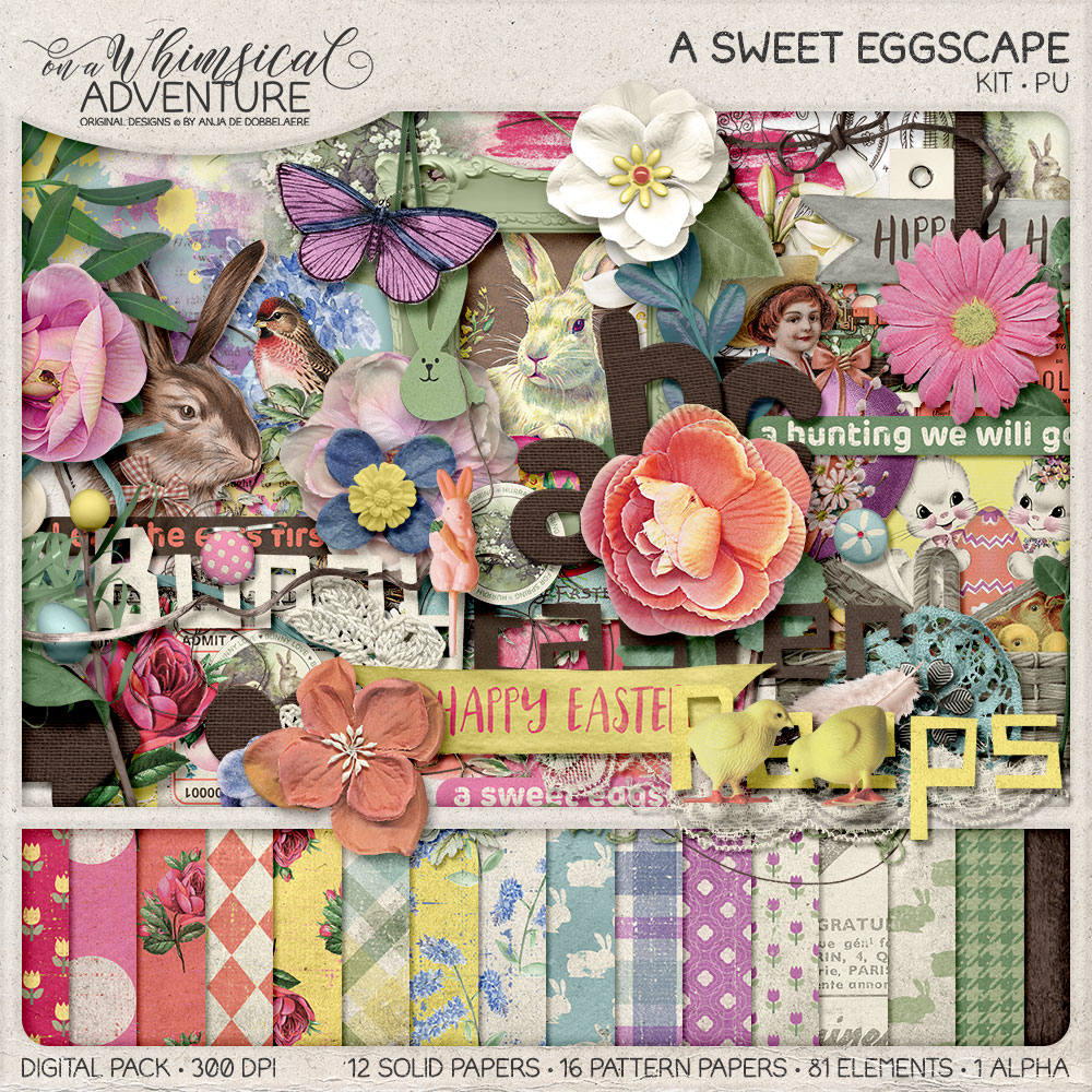 A Sweet Eggscape Kit by On A Whimsical Adventure