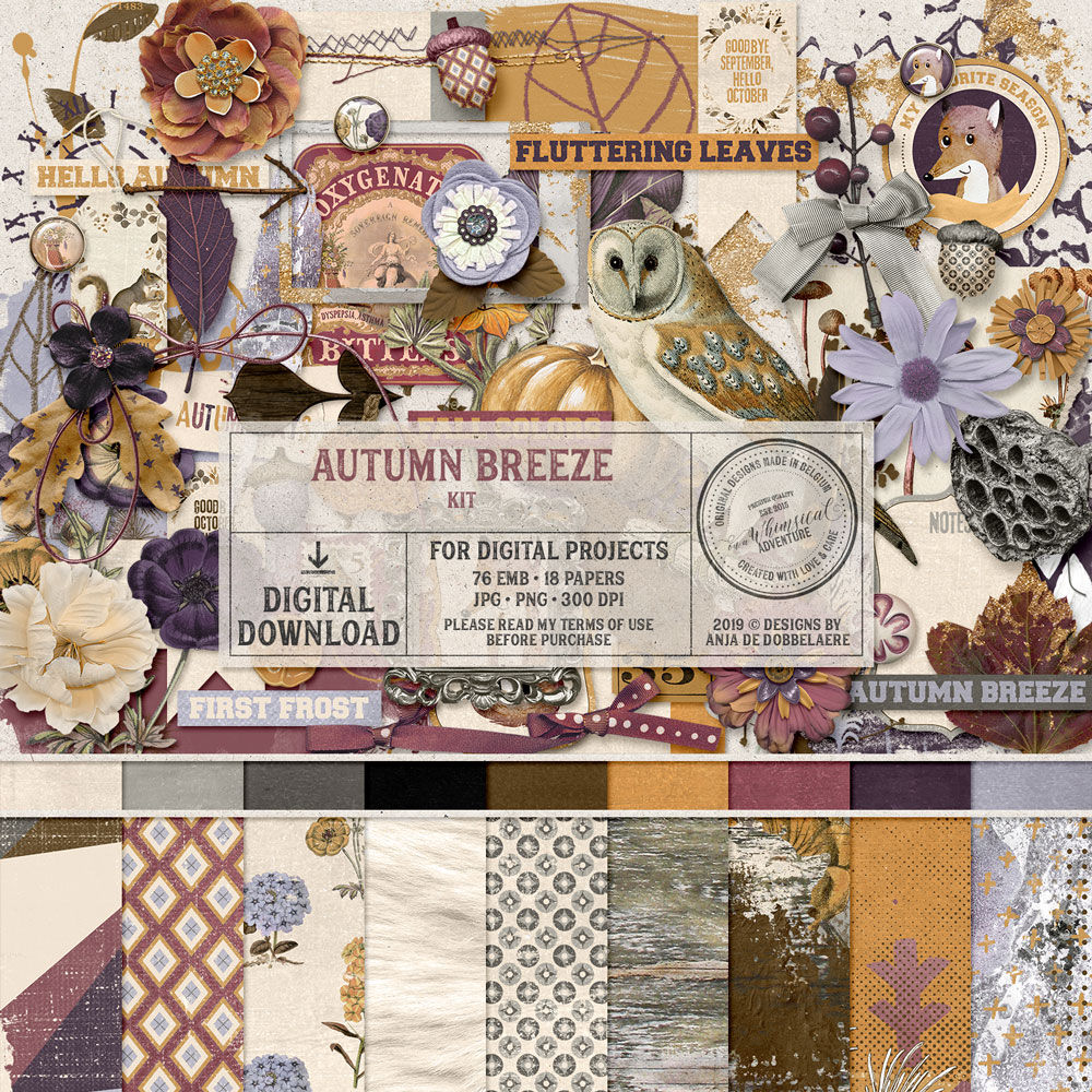 Autumn Breeze Kit by On A Whimsical Adventure