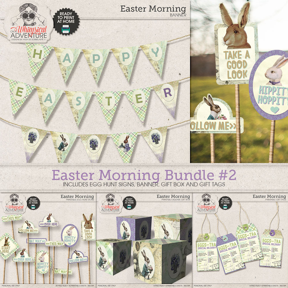 Easter Morning Bundle 2 by On A Whimsical Adventure